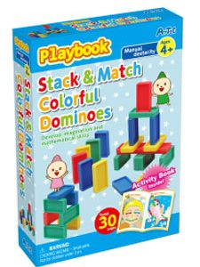 Stack & Match Colourful Dominoes